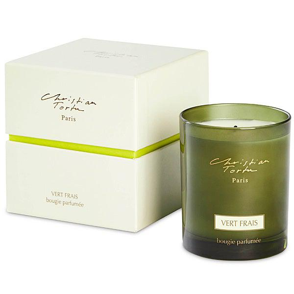 Christian Tortu Vert Frais (Fresh Green) 190 Gram Candle-Christian Tortu-Oak Manor Fragrances