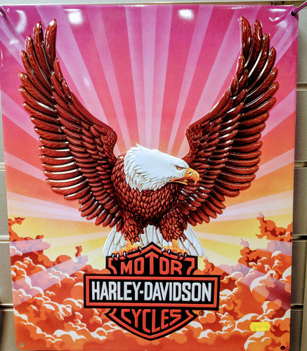 Harley-Davidson Eagle Metal Sign