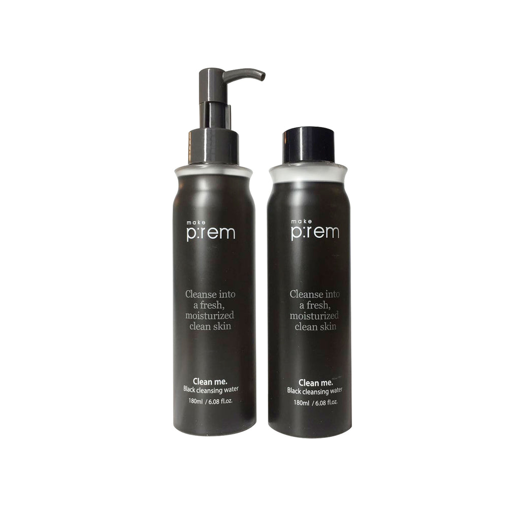 Make P:rem - Clean me. Black Cleansing Water Set (1+1)
