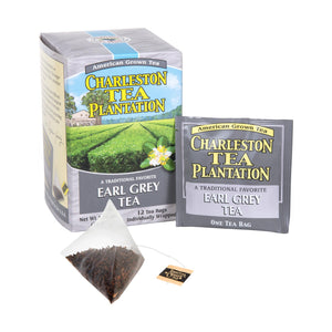Charleston Tea Plantation Earl Grey Pyramid Bags