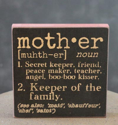 Definition of a Mother-Wood Sign