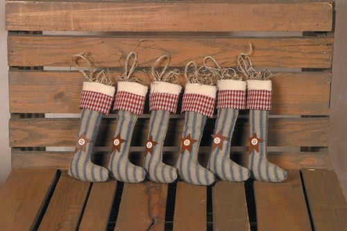 Primitive Stocking Ornament