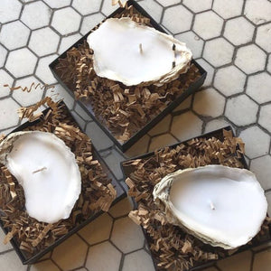 Individual Oyster Candle (Multiple Scents Available)