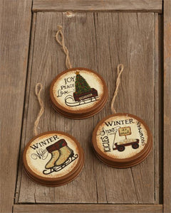 Winter Welcome Ornaments