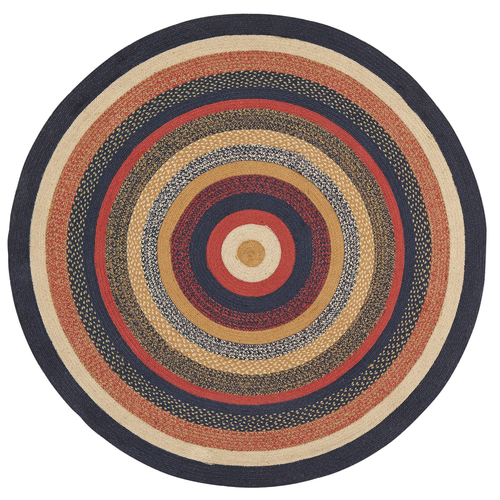 STRATTON JUTE RUG 6FT ROUND
