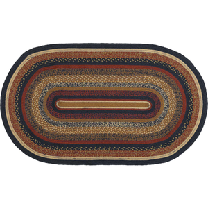 STRATTON JUTE RUG OVAL 3' x 5'