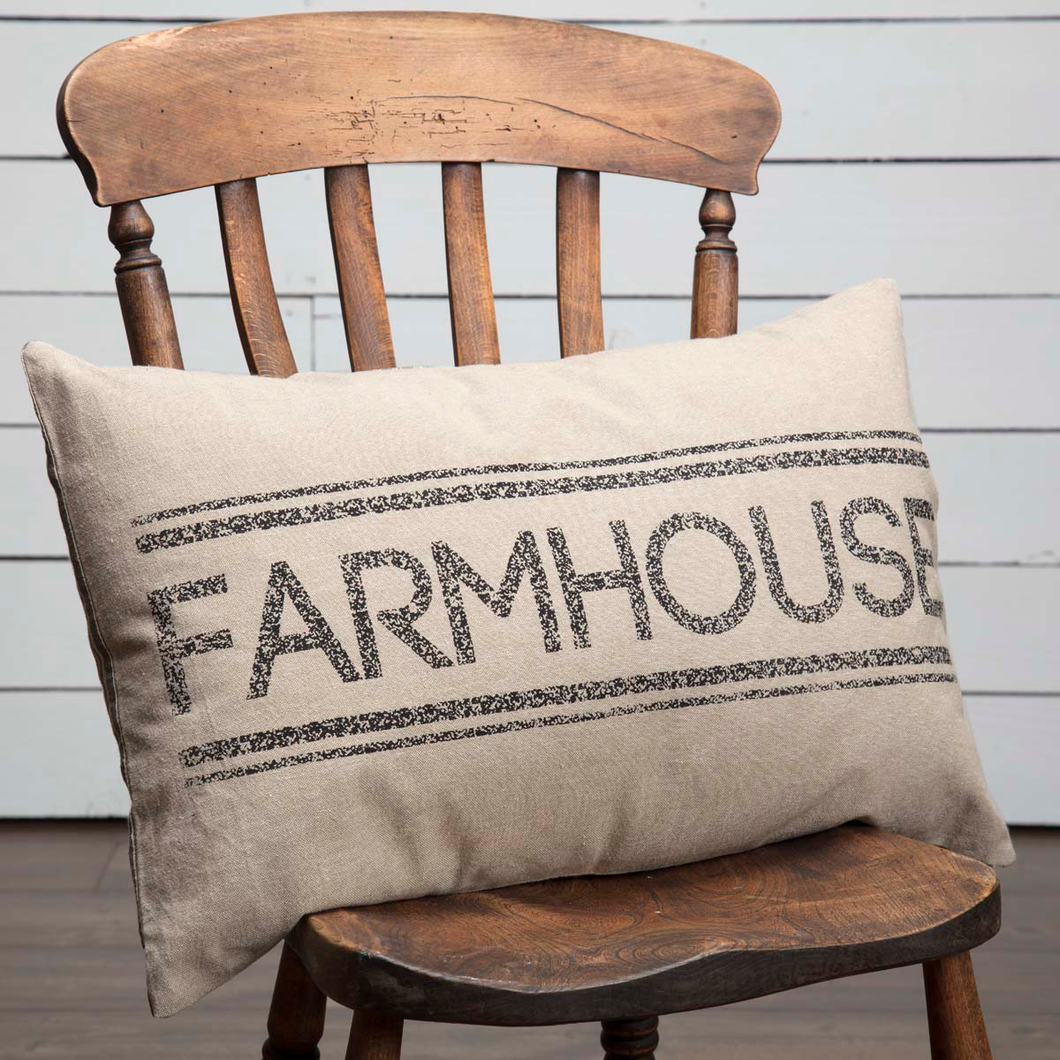 SAWYER MILL FARMHOUSE PILLOW 14X22