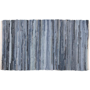 DENIM & HEMP CHINDI/RAG RUG RECT 2.25' x 4'