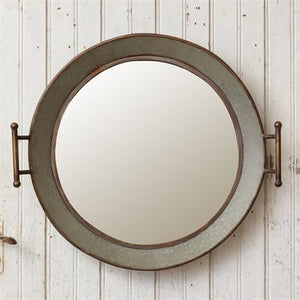 Galvanized Wash Tub Mirror