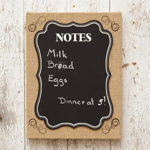 """Notes"" Chalkboard Sign"