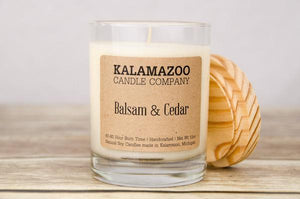 BALSAM & CEDAR: 10OZ JAR CANDLE