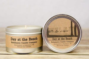 DAY AT THE BEACH: 6.5OZ TIN CANDLE