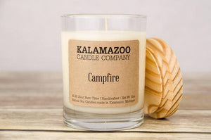 CAMPFIRE: 10OZ JAR CANDLE