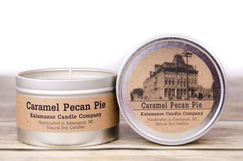CARAMEL PECAN PIE - 6.5OZ TIN CANDLE