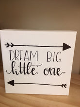 """Dream Big"" Canvas"