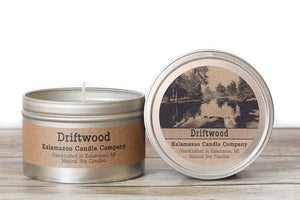 DRIFTWOOD: 6.5OZ TIN CANDLE