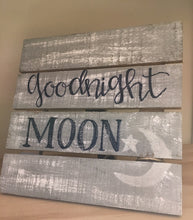 """Goodnight Moon"" - Small Pallet"