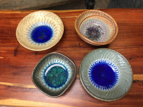 Medium Glass Pottery Dish