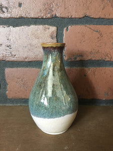 Small Pottery Bud Vase