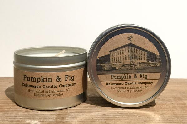 PUMPKIN & FIG: 6.5OZ TIN CANDLE