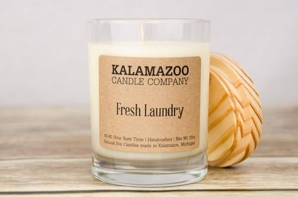 FRESH LAUNDRY: 10OZ JAR CANDLE