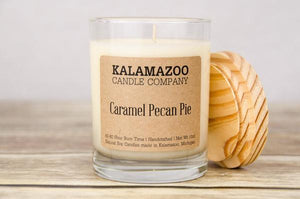 CARAMEL PECAN PIE: 10OZ JAR CANDLE