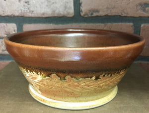 Copper and Earth Tone Bowl (Multiple Available)