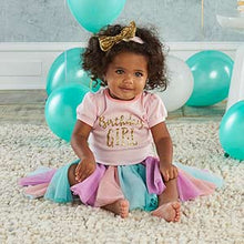 My First Birthday Rainbow 3-piece Tutu Outfit - Girl