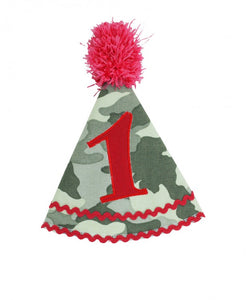 Camden Camo Birthday Hat
