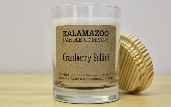 CRANBERRY BELLINI: 10OZ JAR CANDLE-NEW
