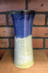 Cobalt Blue Layered Vase