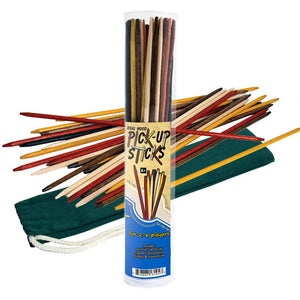 Pick-Up Sticks with Color Canvas Pouch
