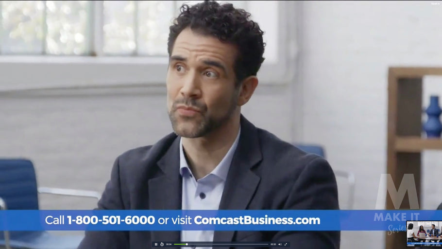 Comcast Business TV Commercial Cyber Attacks Features Kris Van Nest