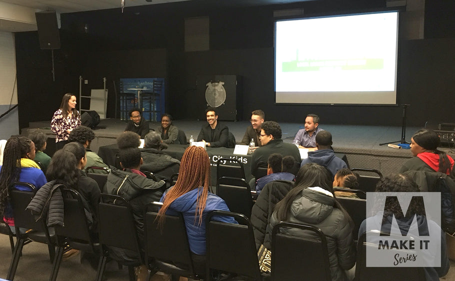 Entrepreneurship Panel Opens Opportunities at New City Kids (Jersey City, NJ)