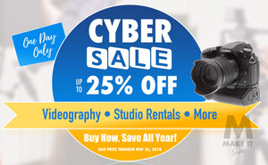 Cyber SALE – Save Up To $5,000 On Video Production & More!