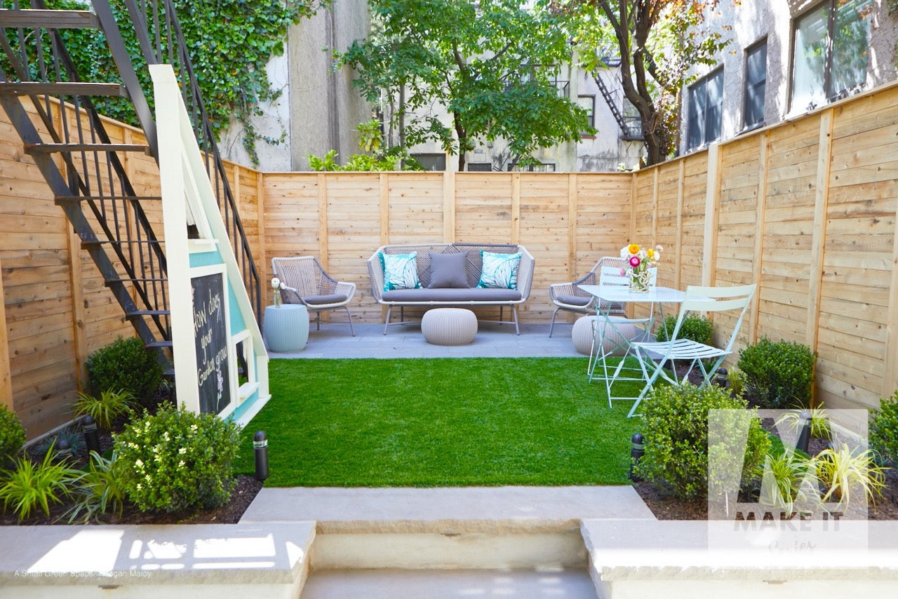 6 Tips for Designing Small Urban Outdoor Greenspaces