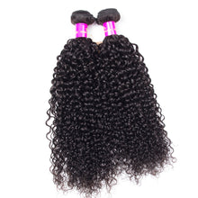 Raw Indian/Brazilian/Malaysian/Cambodian curly virgin /remy  human hair 3 bundles