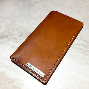 Horween Leather iPhone Sleeve