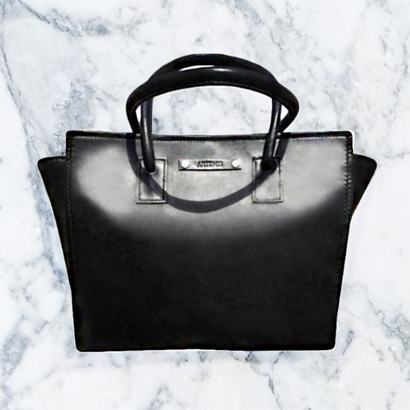 Black Luxury Leather Handbag