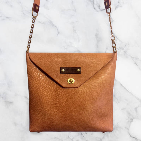 Leather Crossbody Handbag