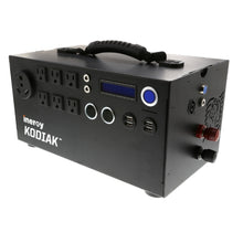 Batterie portative Kodiak 1,1KW 1,5KWH, branchement solaire