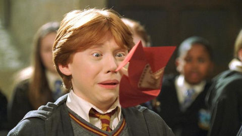 Beuglante Ron Weasley Harry Potter