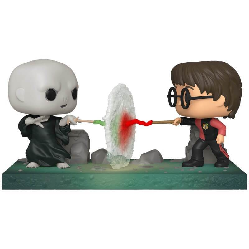 Funko Pop Movie Moment Harry VS Voldemort - Harry Potter