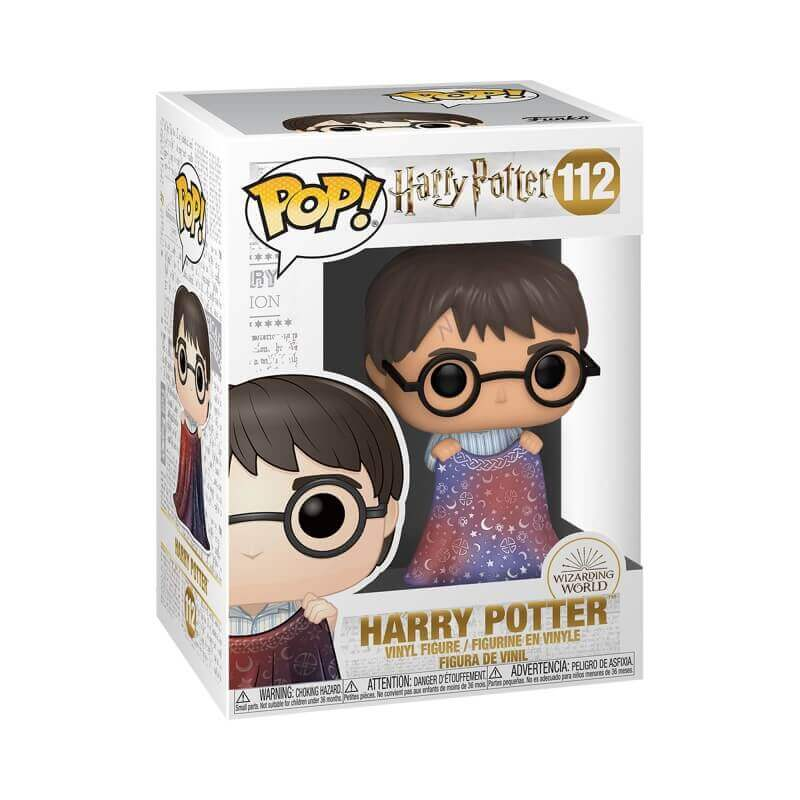 FUNKO POP HARRY POTTER AVEC CAPE D'INVISIBILITÉ (Précommande) - HARRY POTTER