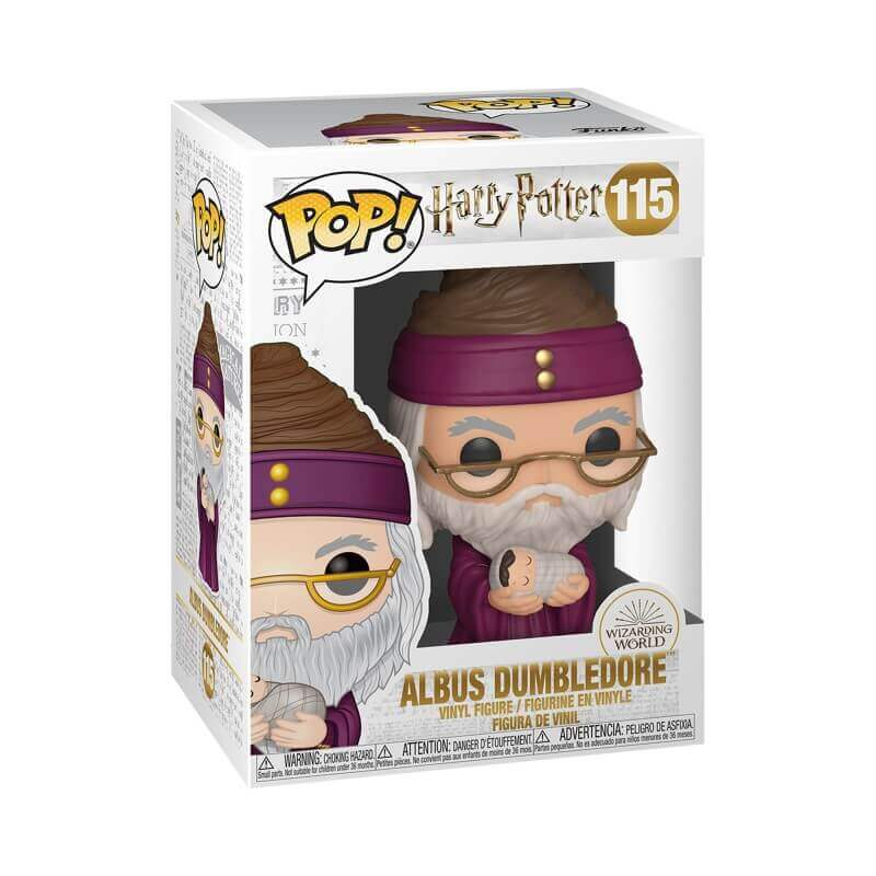 FUNKO POP DUMBLEDORE AVEC HARRY POTTER BÉBÉ (Précommande) - HARRY POTTER