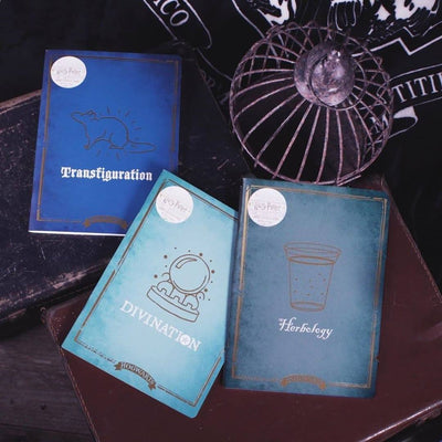 CARNET A4 HERBOLOGY (BOTANIQUE) - HARRY POTTER - la boutique du sorcier