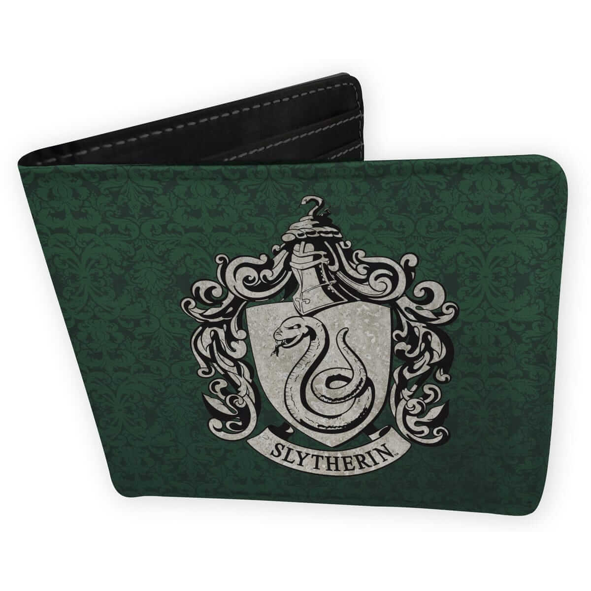 PORTEFEUILLE SERPENTARD VERT EN CUIR - HARRY POTTER