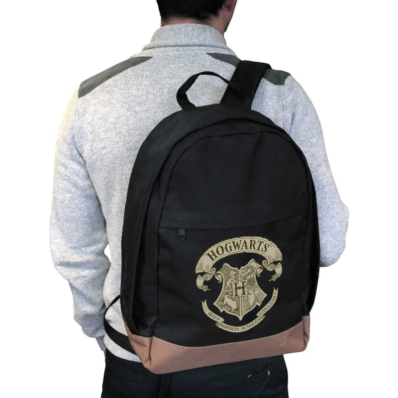 SAC A DOS POUDLARD NOIR - HARRY POTTER
