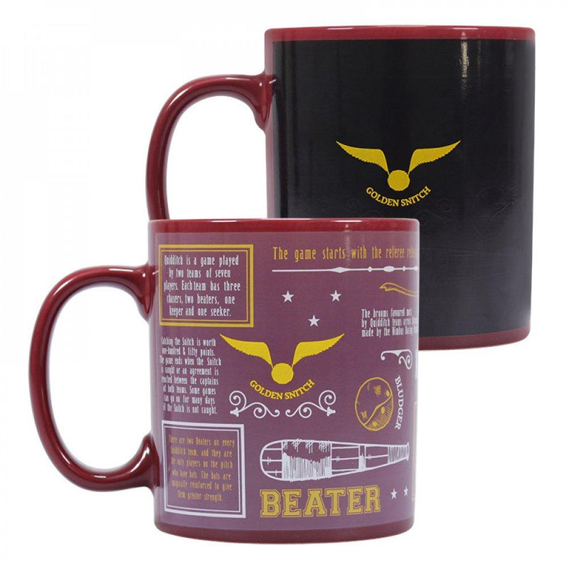 MUG THERMOREACTIF QUIDDITCH 350 ML - HARRY POTTER
