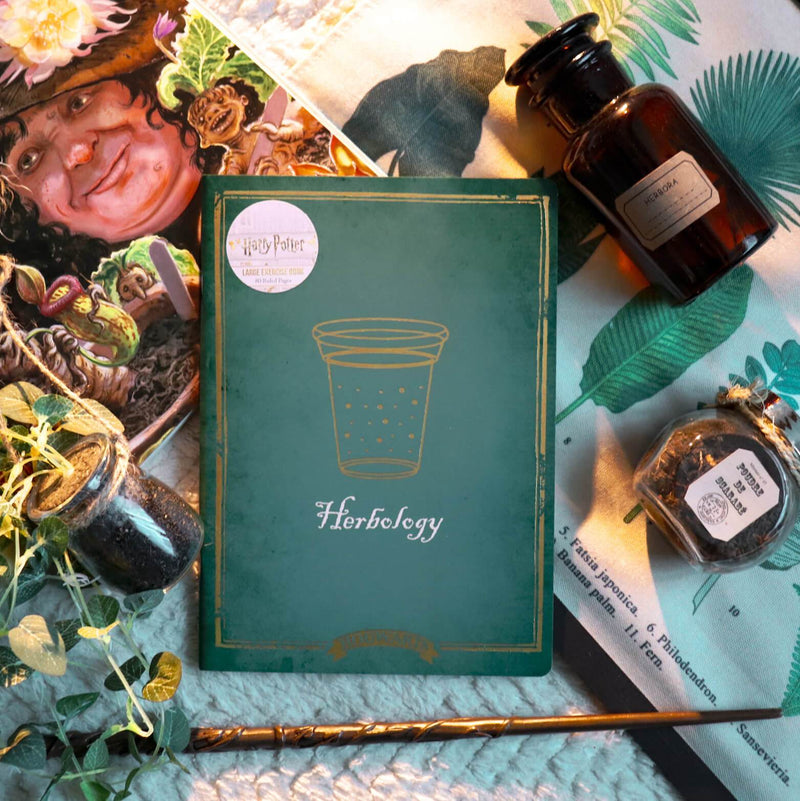 CARNET A4 HERBOLOGY (BOTANIQUE) - HARRY POTTER